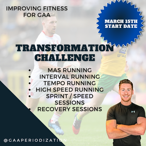 Transformation Challenge: Fitness