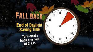 Time to change the Clocks and Batteries