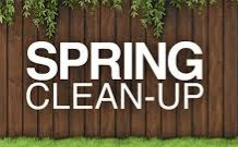 Spring Clean-up Reminder