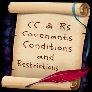 Amendments to our CC& R's