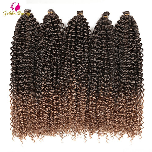Twist Crochet Hair Extensions Synthetic Water Wave