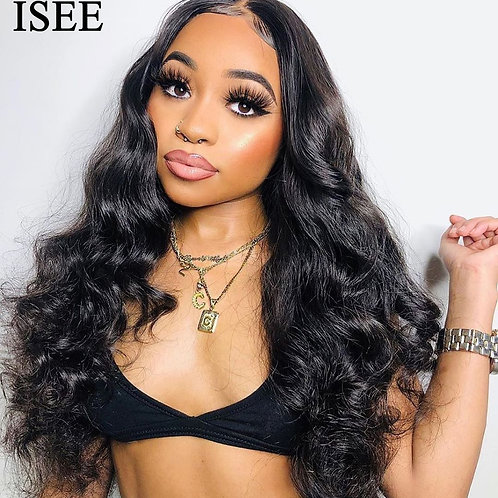 Lace Front Human Hair Wigs  150% Density