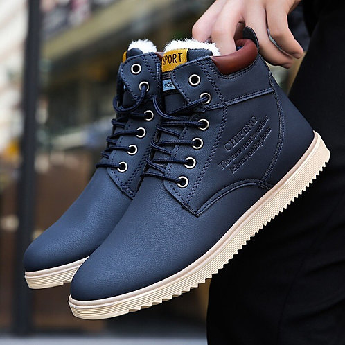 Ankle Boots Warm for Men