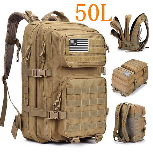 50L Large Capacity Men Army Military