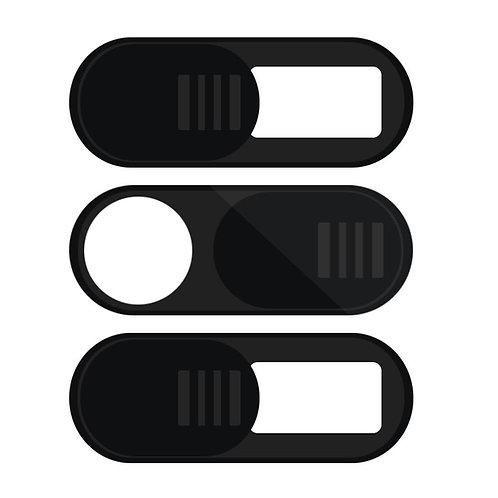 3 Packs Webcam Cover Anti-Spy Camera Block Cap for Cellphone Computer