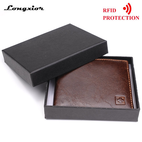 100% Genuine Leather Wallet for  Men