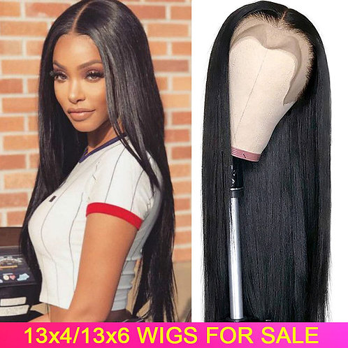 13x4 13x6 Lace Front Human Hair Wigs
