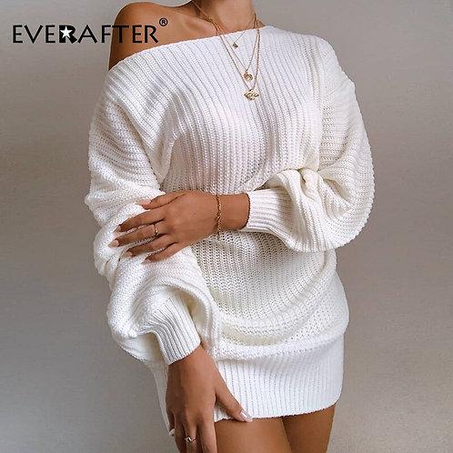 Sexy Off Shoulder Streetwear Dress  for Women