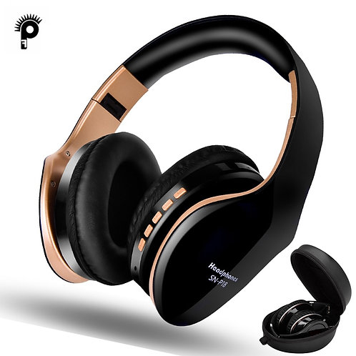 Wireless Headphones   5.0 Noise Reduction Gaming Headset/Mic  for Mobile PC