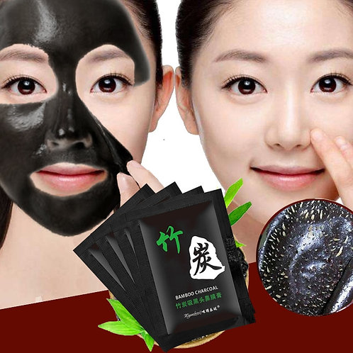 1Pcs Bamboo Charcoal Blackhead Remove Whitening Serum Face Moisturizing Cream