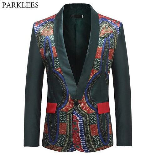African Clothes Blazer for Men  XXXL