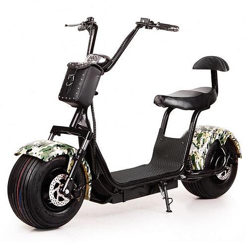 Electric scooter 48V 1000W citycoco Beach