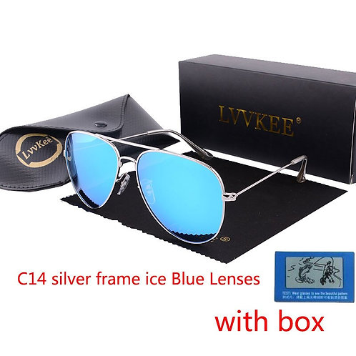 Pilot Sunglasses for Men Polarized Uv400 High Quality