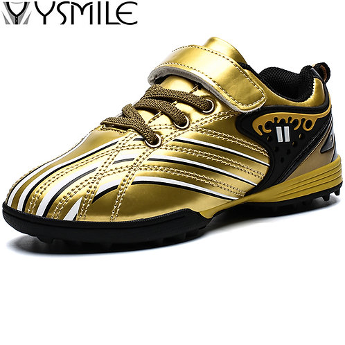 Leather Kids Sneakers Boys Soccer Shoes