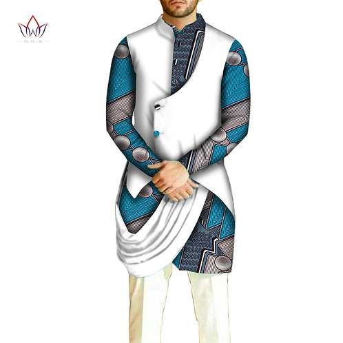 African Men Clothes Cotton Dashiki