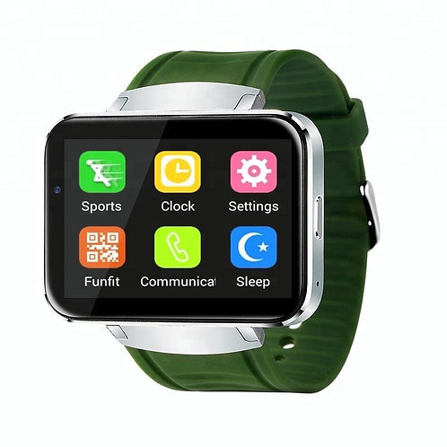 Cheap Alps DM98 2.2 inch Screen Alloy Body wifi 3G android smart watch mobile ph