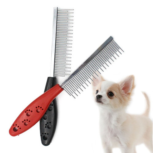 Stainless Steel Dog Comb Pet Hair Removal
