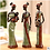 Thumbnail: African Woman in Resin Statues for Decoration Sculpture
