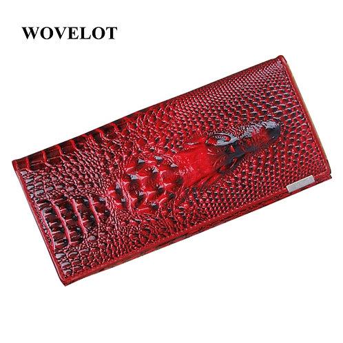 10 Colors Women Wallet Crocodile Long Clutch Bags