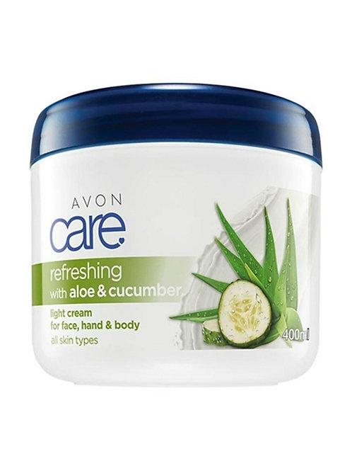 Avon Care Aloe Vera and Cucumber Essence Face, Hand and Body Cream