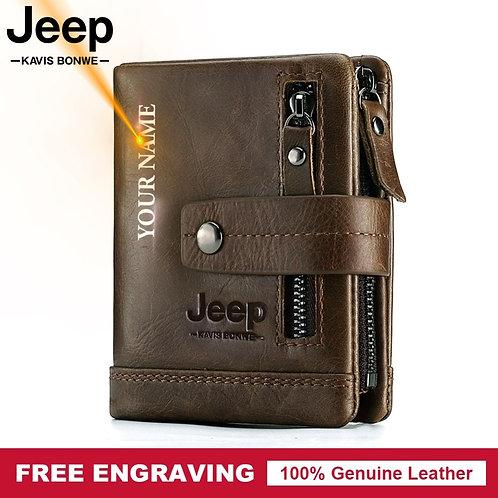 100% Genuine Leather Men Wallet