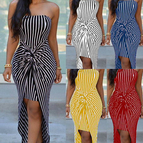 Plus Size Sleeveless Bodycon Bow Dresses
