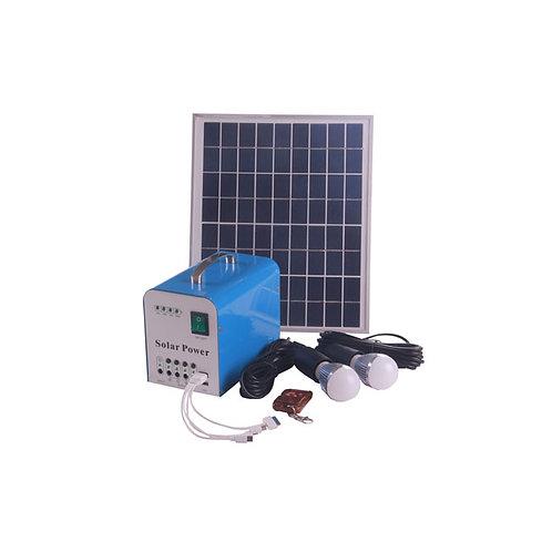 2018 Hot Sales Small Rechargeable Solar Kit LED Home Lighting 20W Mini Solar Ene