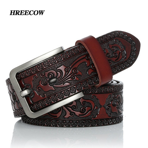 Belts for Men High Quality Cow Genuine Leather