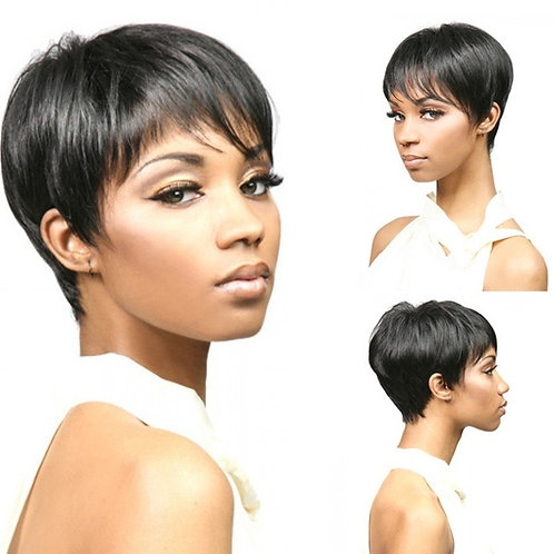 2018 Fashion Bob Human Hair Wigs Women Wigs Front Wig Hair None Short Wigs With