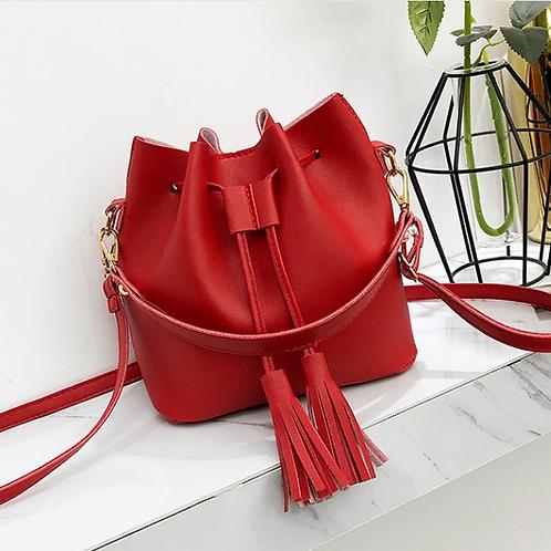 Latest Style PU Leather Handbag Ladies Tote Bag Fashion Hand Bag with Straps