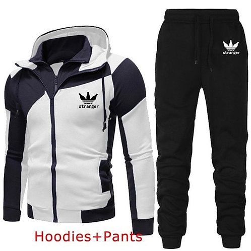 Autumn Winter Men's Sets Brand Sportswear