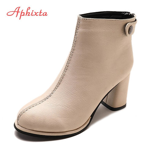 Ankle Boots for Women Soft Leather