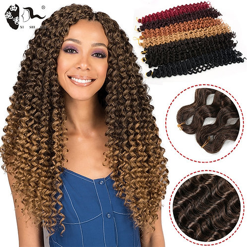 Synthetic Curly Hair Extensions