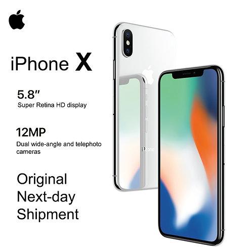 """Apple iPhone X 5.8"""" Bluetooth IOS 11 IP67 Waterproof"""