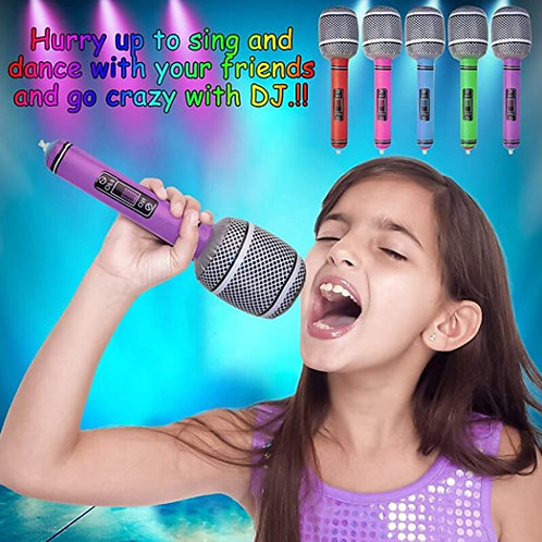 35/80cm Funny Inflatable Microphone
