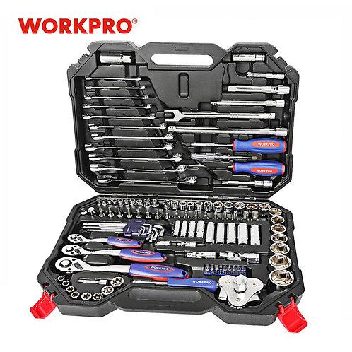 123PC Tool Set Hand Tools for Car Repair  Set Professional Car Repair Tool Kits