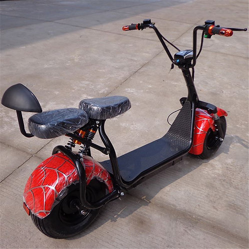 New products big two wheels citycoco 1000W 60V electric sc