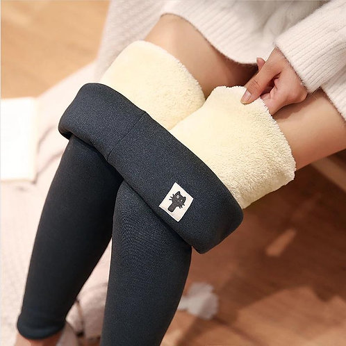 Winter Women Leggings  Comfortable Keep Warm Stretchy Legging