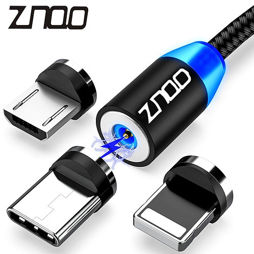 Magnetic USB Cable Fast Charging Type C