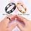 Thumbnail: Auxauxme Titanium Steel  Rings Gold  for Women Men Engagement Jewelry
