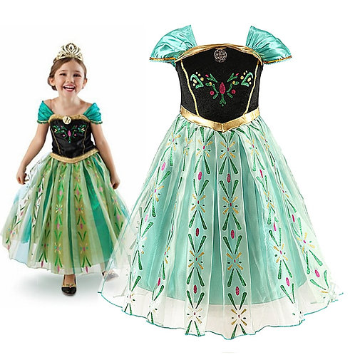 Anna Princess Dress for Baby Girls