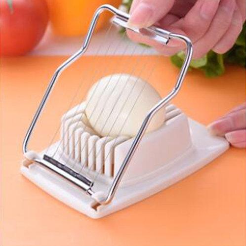 1Pcs Multifunction Kitchen Cut Egg Slicer Sectioner Cutter