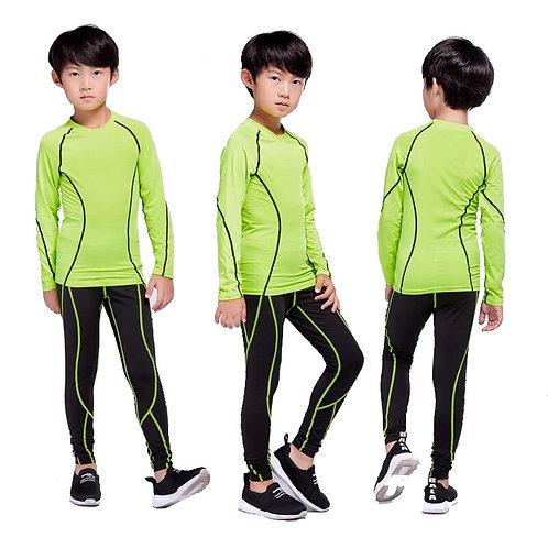 Children Kit 2 Piece Tracksuit Children's Jogging Training Clothes