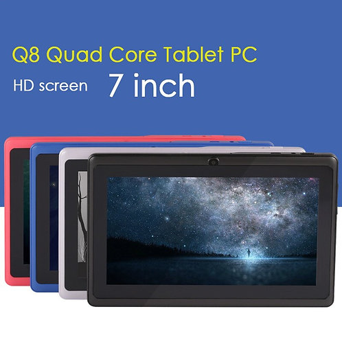 7 Inch Android 9.0 Tablet Pc Google Play Smartphone
