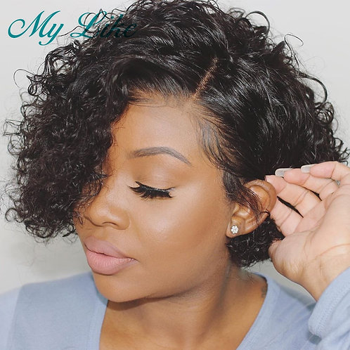 Pixie Cut Wigs Short Human Hair Wigs