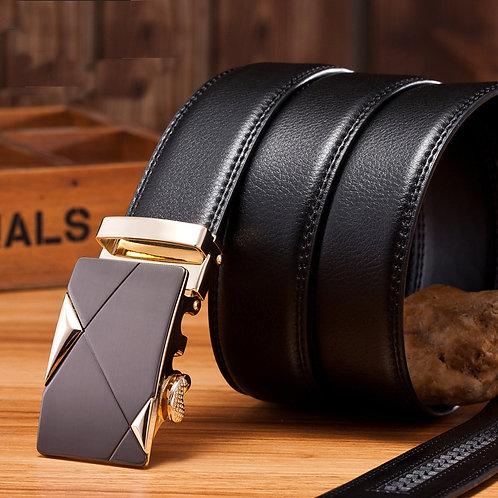 hot new formal men's strap waistband buckle belt leather waist casual belts