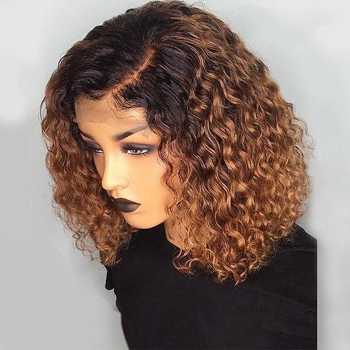 Curly Human Hair Wigs Highlight