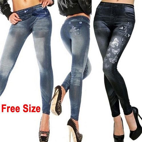 Slim Fit Skinny jeans Leggings