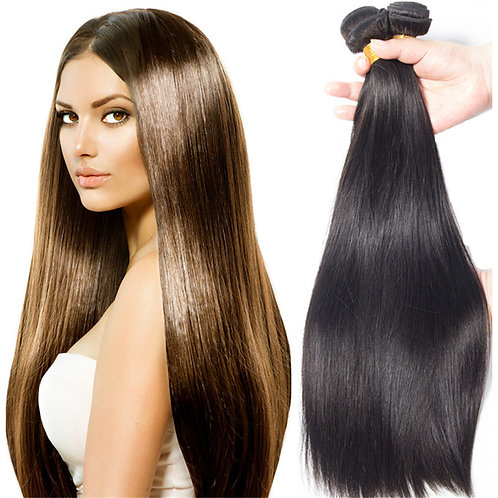 "12"" to 30 inch virgin remy brazilian hair weave full lace wig peruvian human hai"