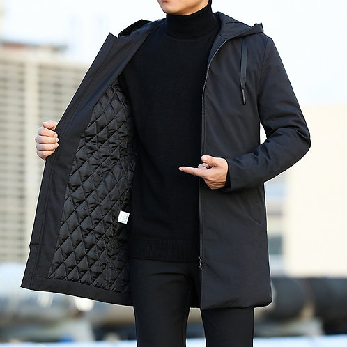 Outerwear Jacquet for Men Coat 6XL